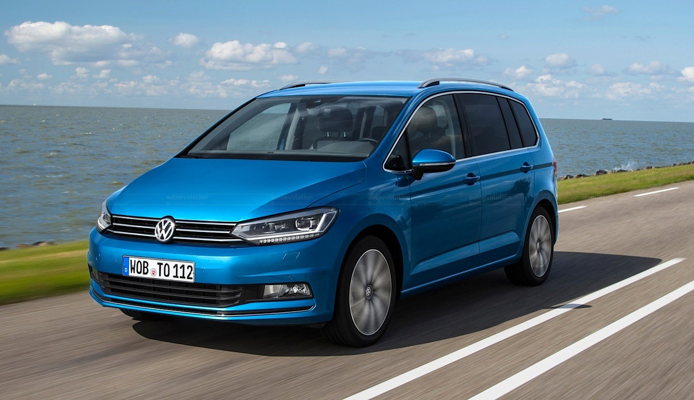 2016 Volkswagen Touran Gets 1.8 TSI 180 HP and 2.0 TDI 190 HP Engines - autoevolution