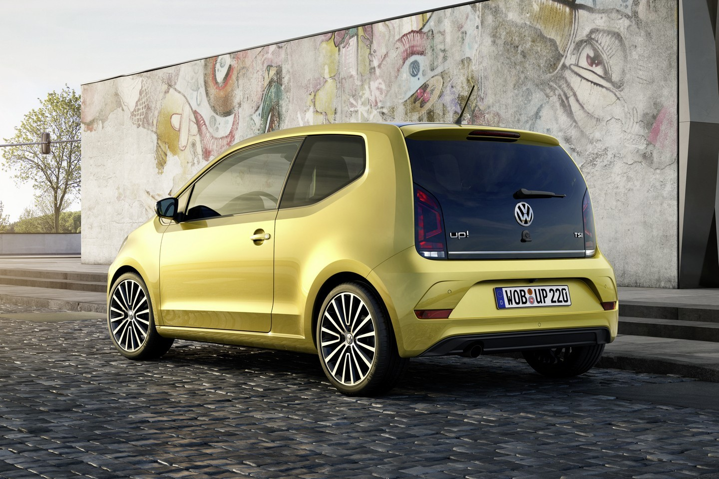 2016 volkswagen up facelift revealed with 1 0 tsi turbo engine and manly grille autoevolution. Black Bedroom Furniture Sets. Home Design Ideas