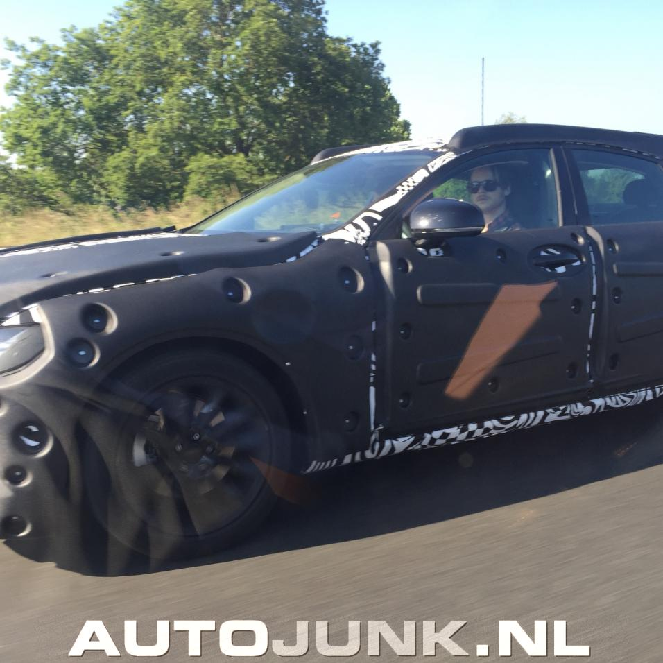 2016 Volvo S90 Spied, It Has Thor's Hammer Headlights ...