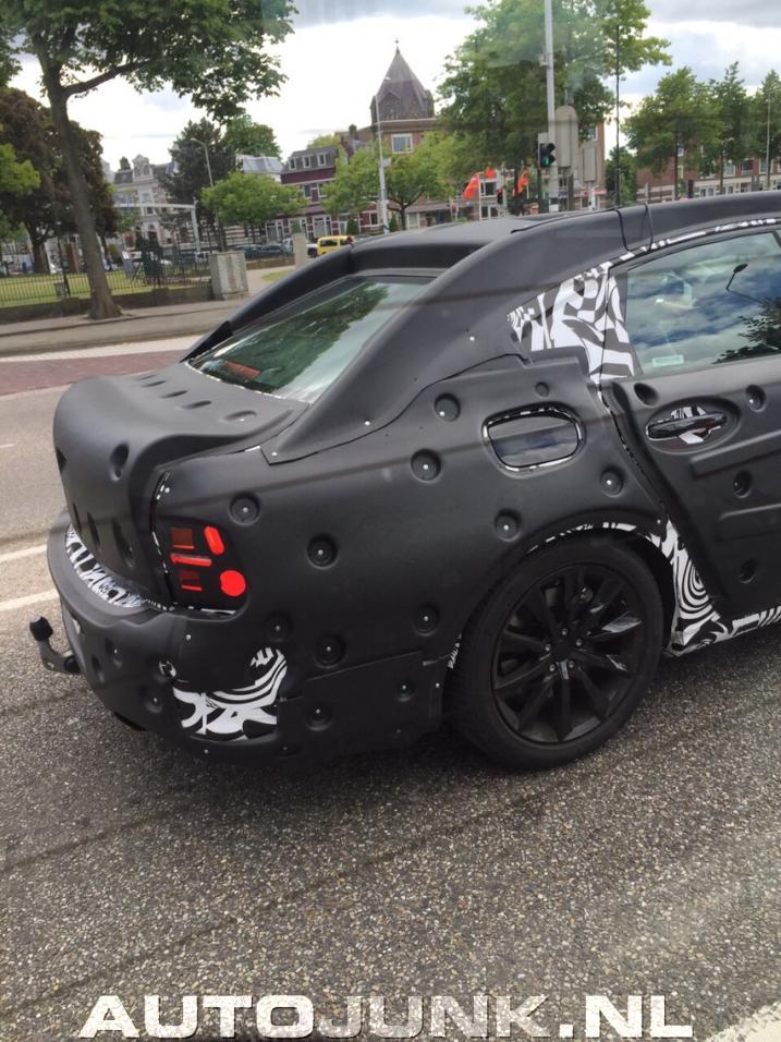2016 volvo s90 spied it has thors hammer headlights