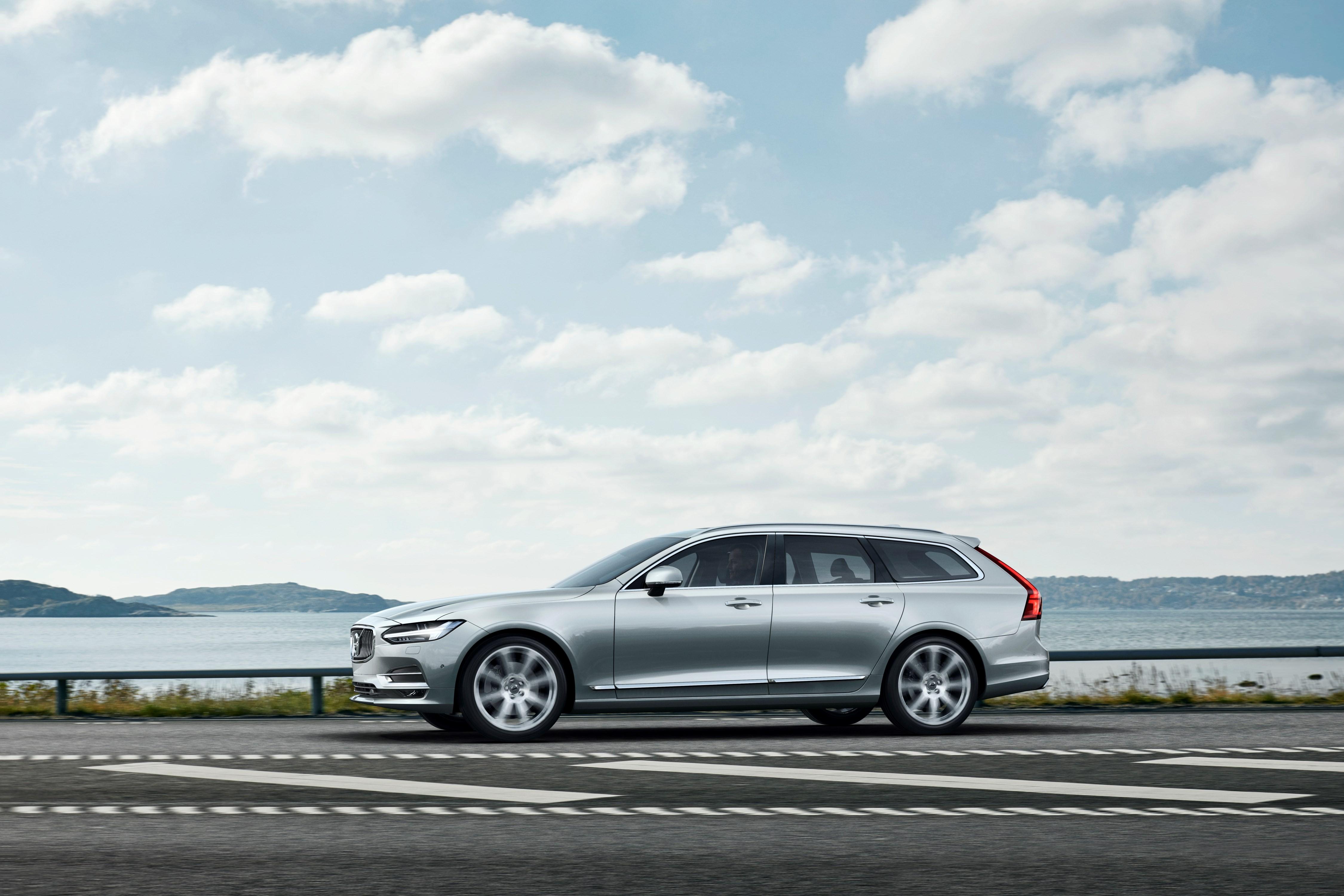 2016 volvo v90 wagon officially revealed in sweden