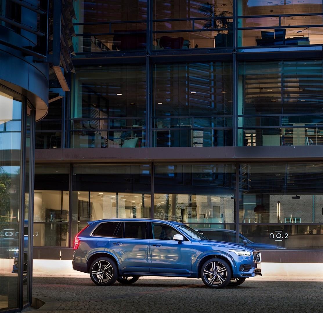 2016 Volvo XC90 R-Design Shows More Aggressive Design And