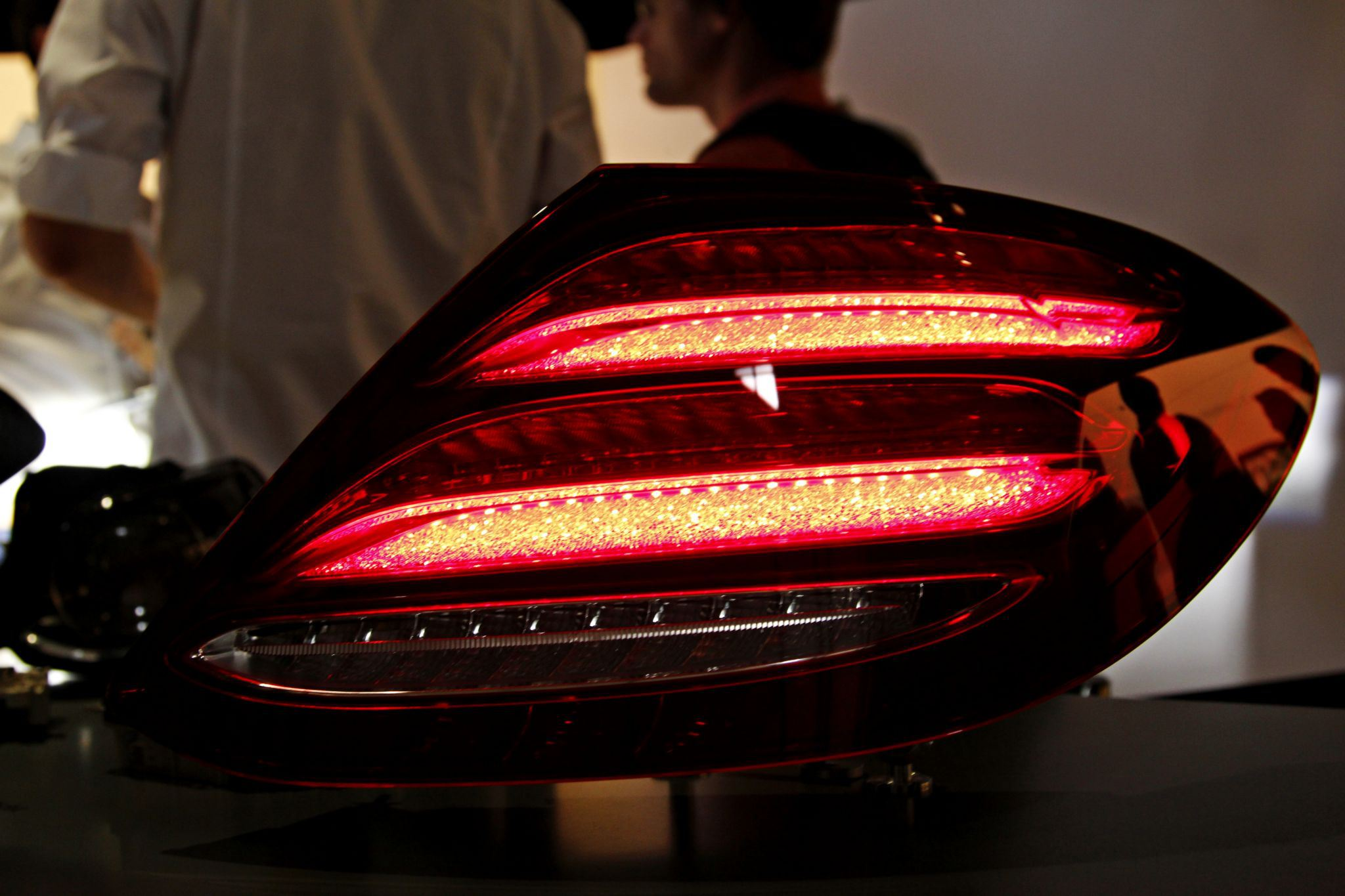2016 W213 Mercedes E Class Taillights Revealed Allegedly