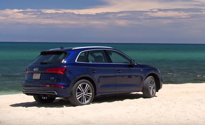 Audi q5 e tron 2016 17