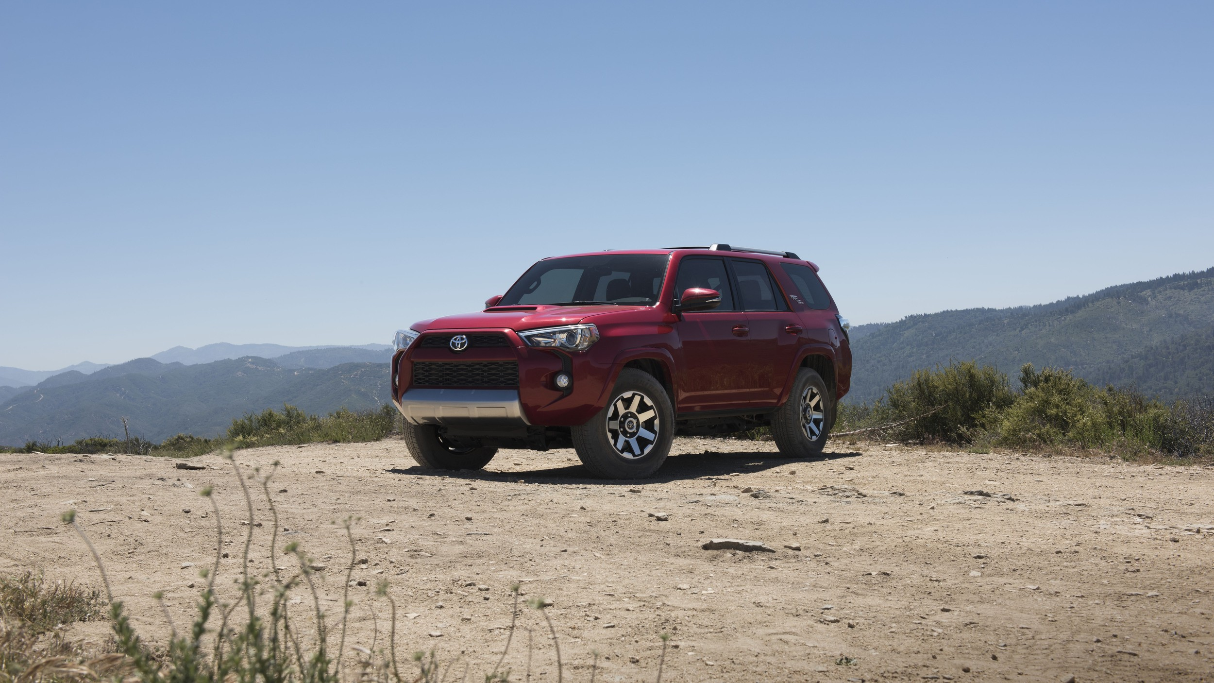 Toyota 4runner Gains Trd Off Road Trim Levels For My 2017