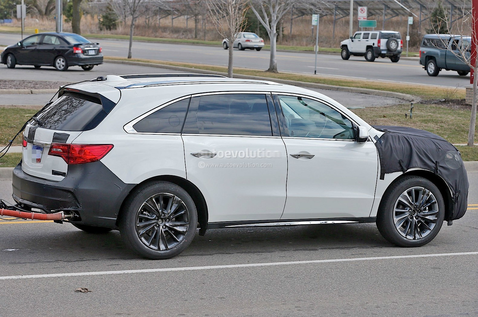 2017 Acura MDX Will Finally Lose the Beak - autoevolution