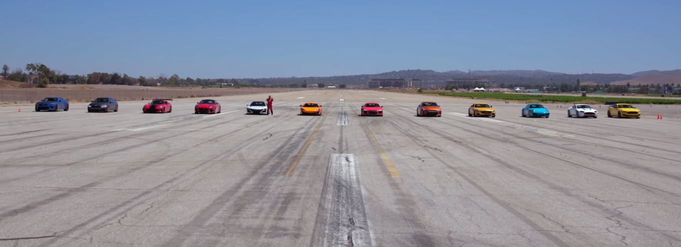 2017 Acura NSX Behind GT-R, 911 Beats Viper ACR in World's Greatest Drag Race 6 - autoevolution