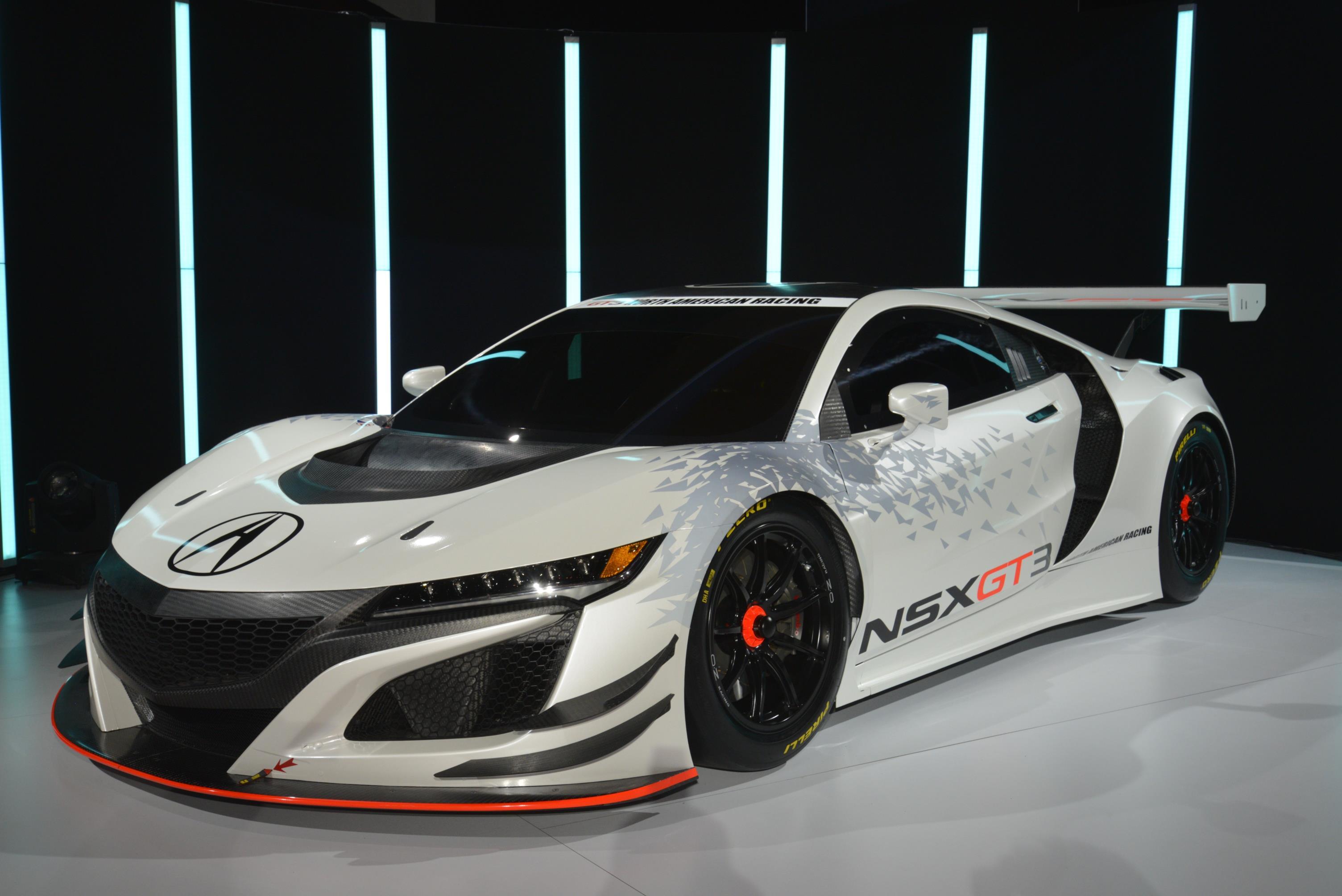 2017 Acura Nsx Gt3 Racecar
