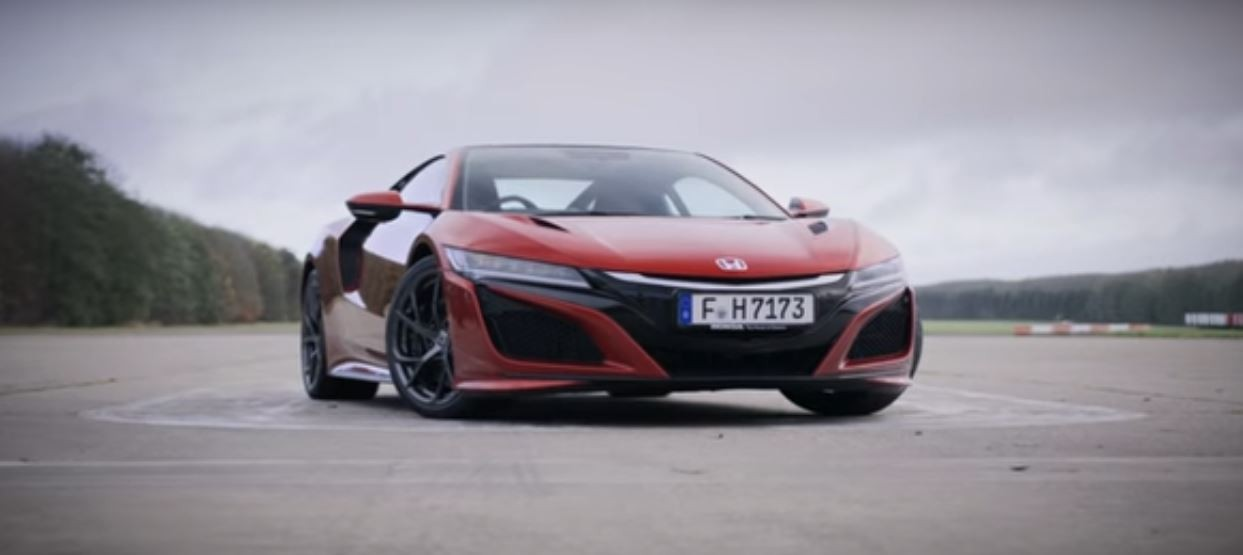 new honda nsx drag races civic type r with 5s head start. Black Bedroom Furniture Sets. Home Design Ideas