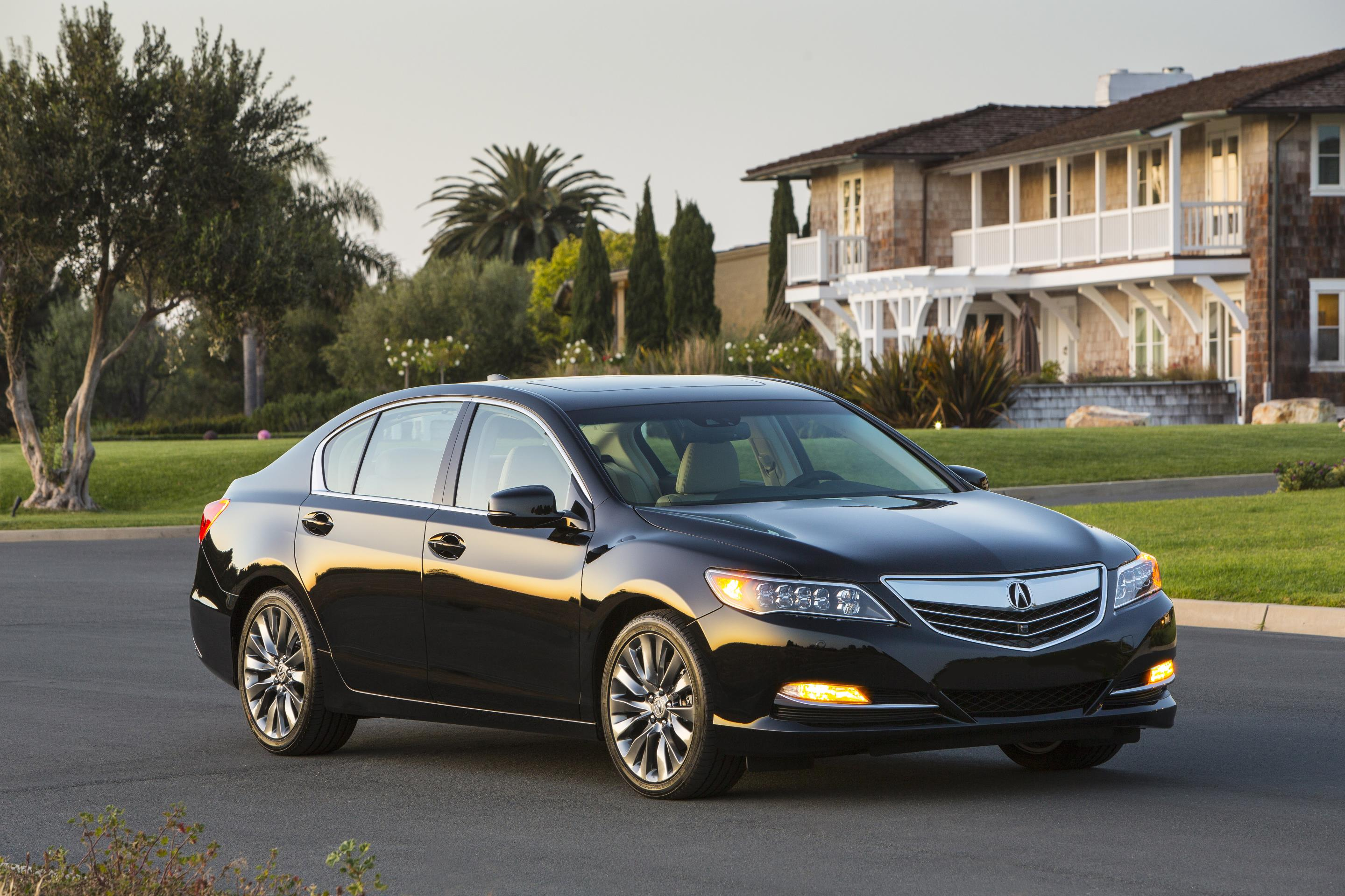 2017 acura rlx priced from  54 450  updated sport hybrid rlx due this fall