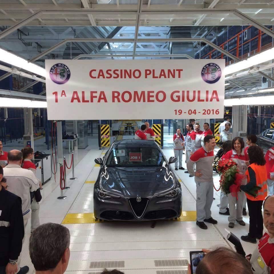 2017 Alfa Romeo Giulia Production Has Just Started At Cassino Plant