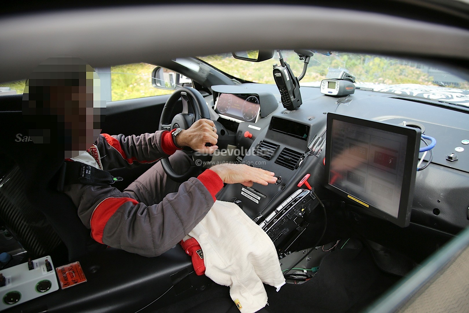 2017 aston martin db11 interior spied, shows mercedes components