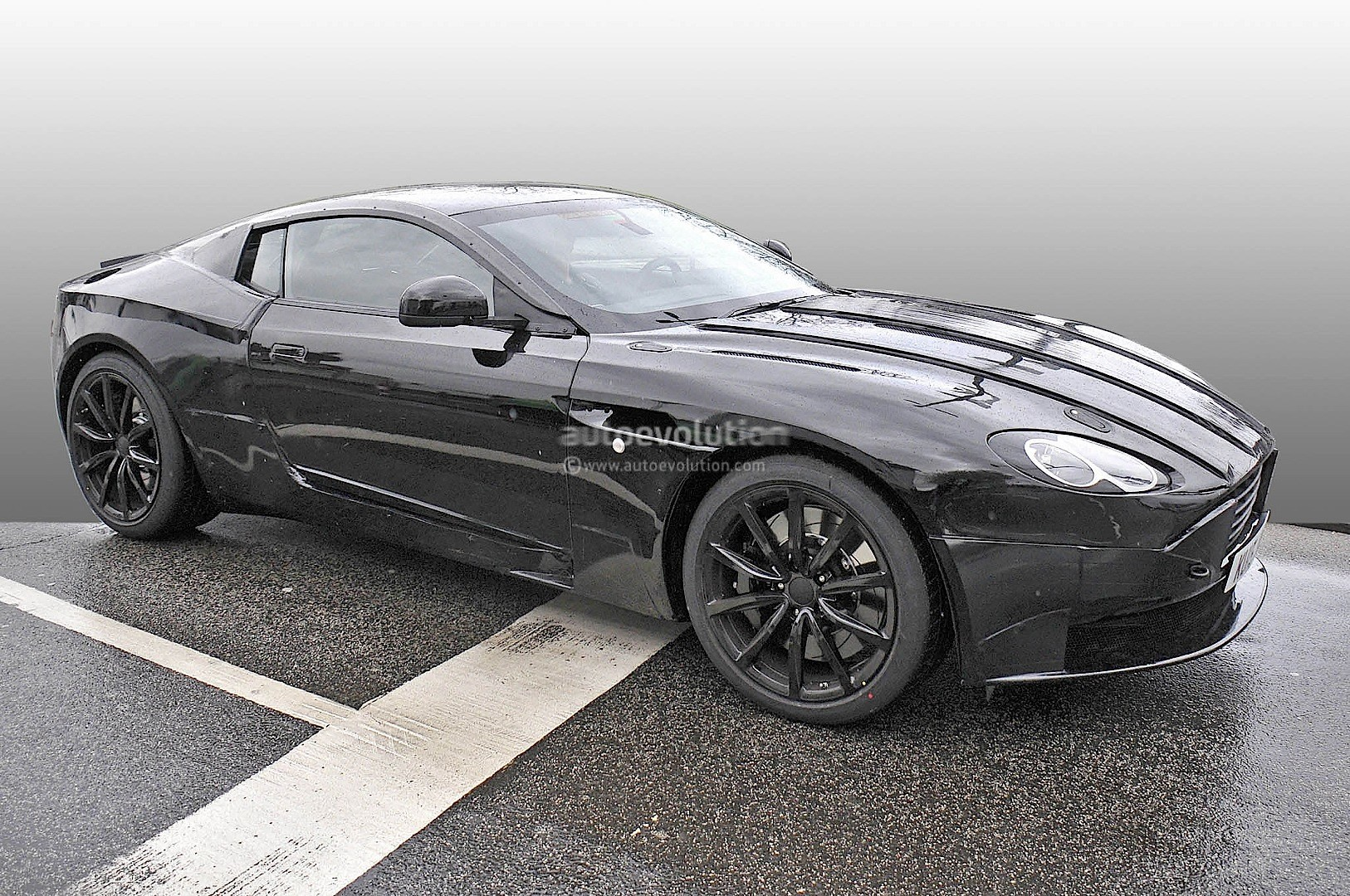 2017 Aston Martin DB9 Successor Prototype Spied: DB10 ...
