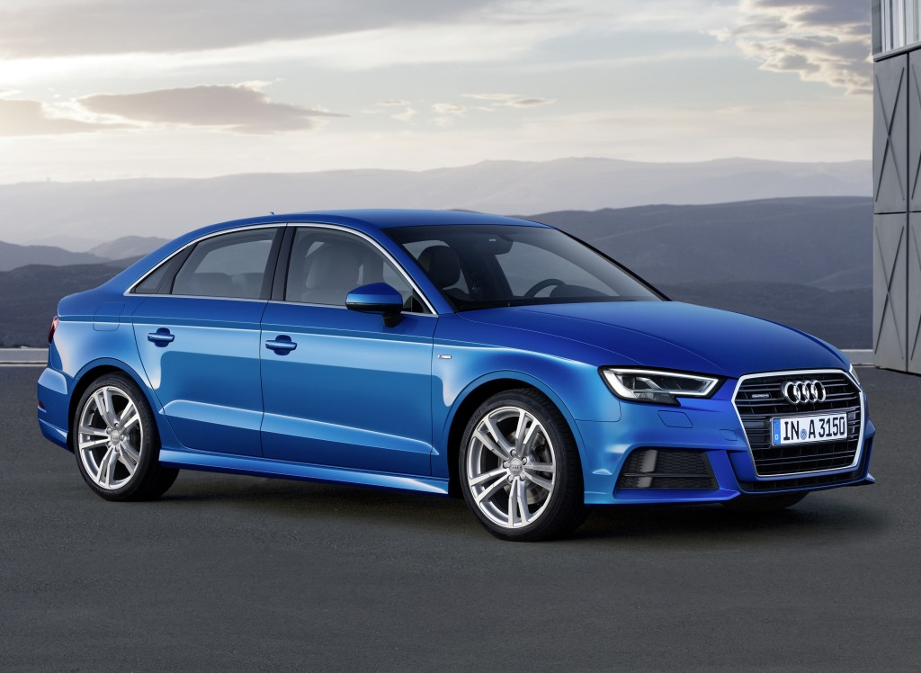 2017 audi a3 2 0 tfsi offers more power than old a3 1 8t autoevolution. Black Bedroom Furniture Sets. Home Design Ideas