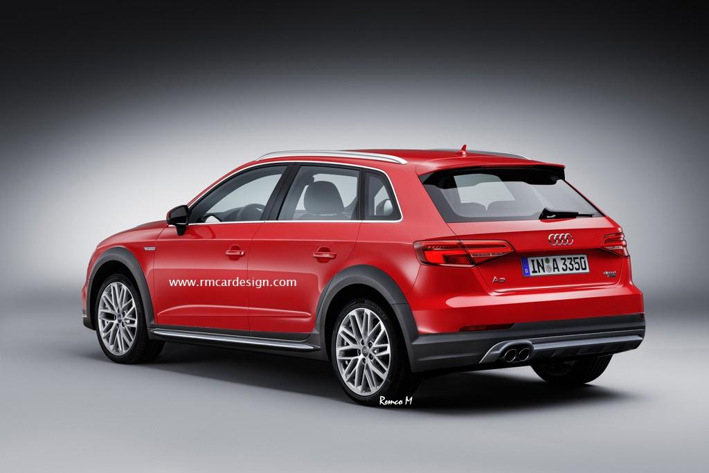2017 Audi A3 Allroad Quattro Renderin