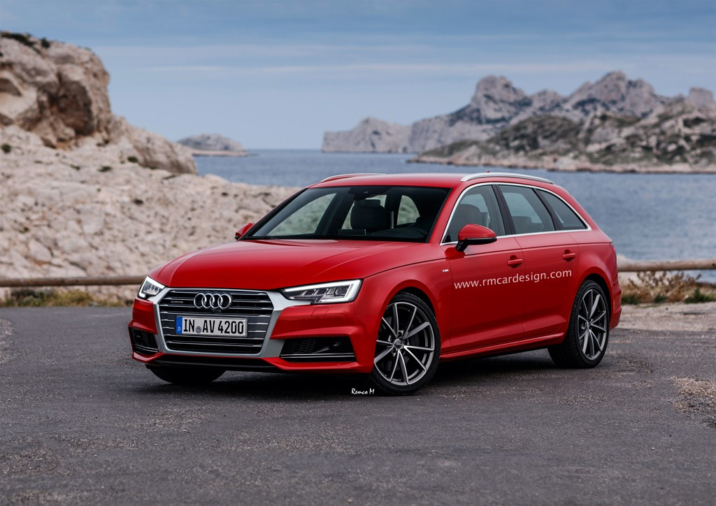 2017 Audi A4 Gets a Facelift with Q7 Grille Infusion - autoevolution