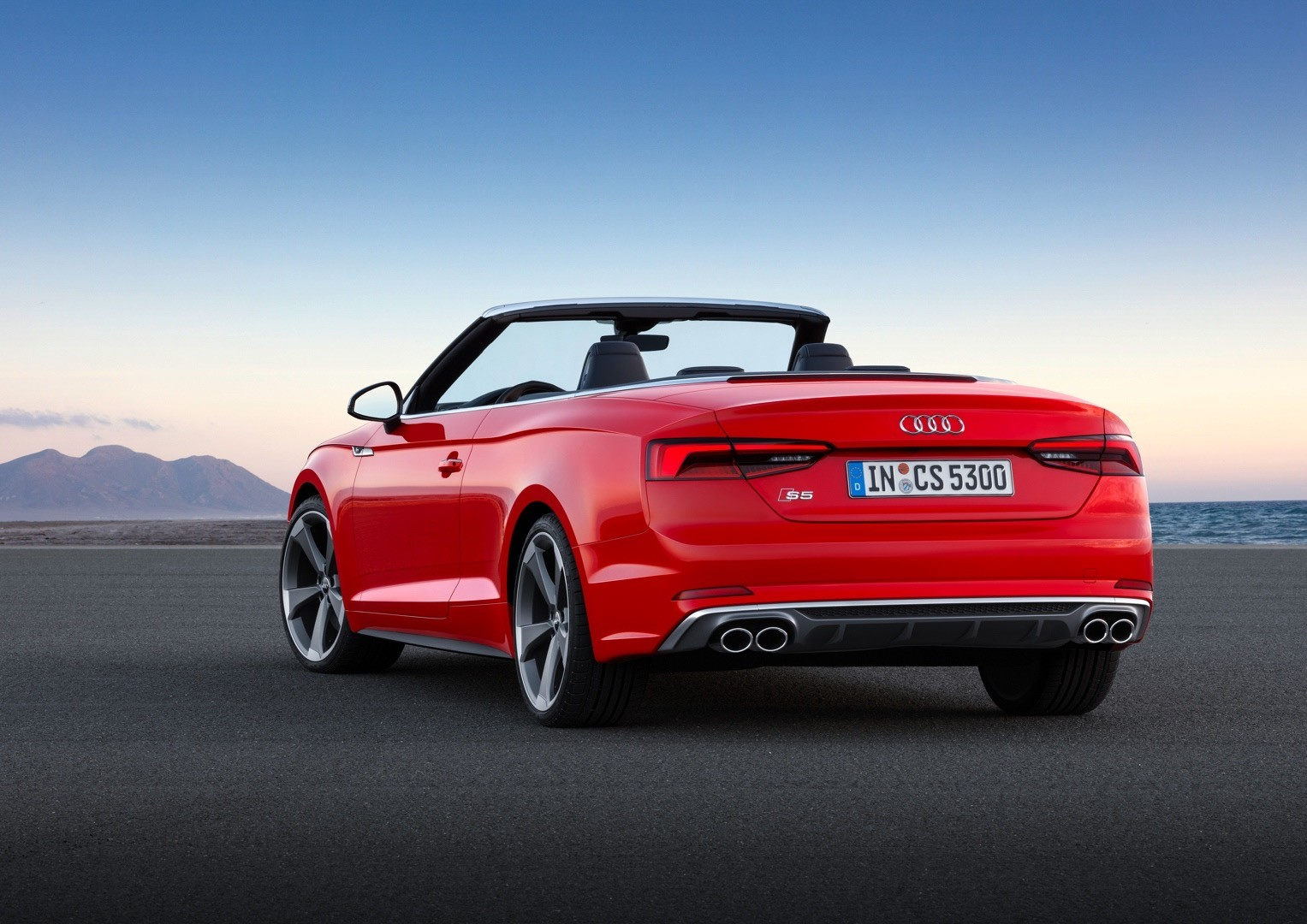 Audi rs5 convertible used