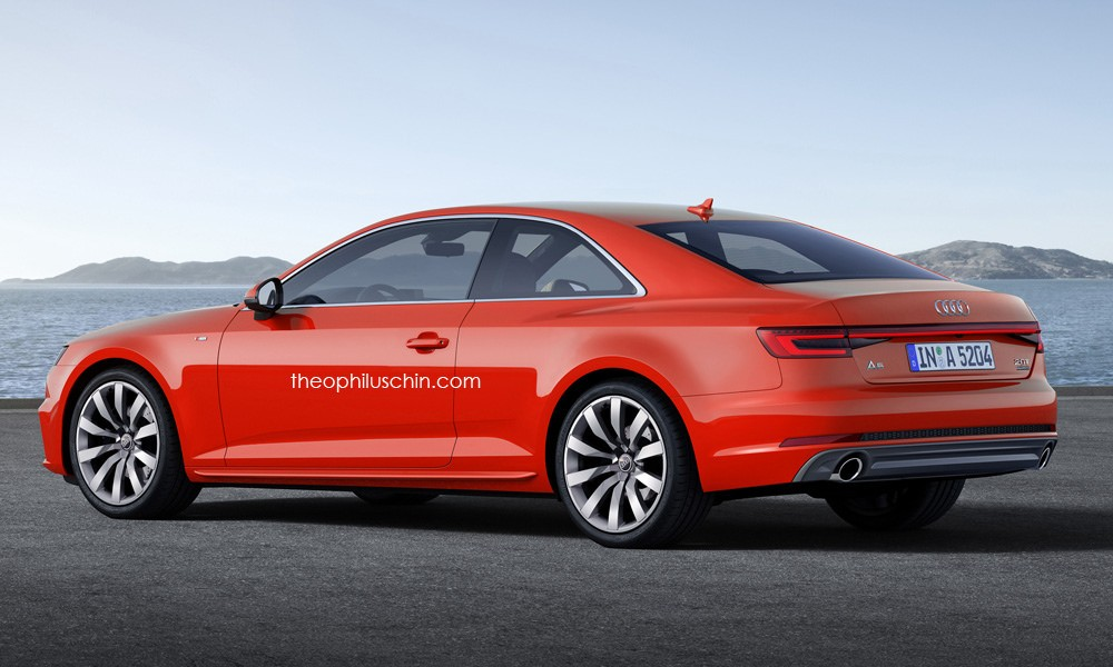2017 Audi A5 Coupe Rendered Once More Artist Admits It