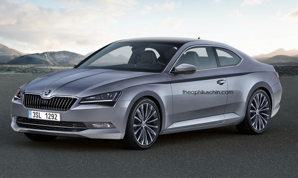 Where Are Nissans Made >> 2017 Audi A5 Coupe With Skoda Headlights Looks Decent - autoevolution