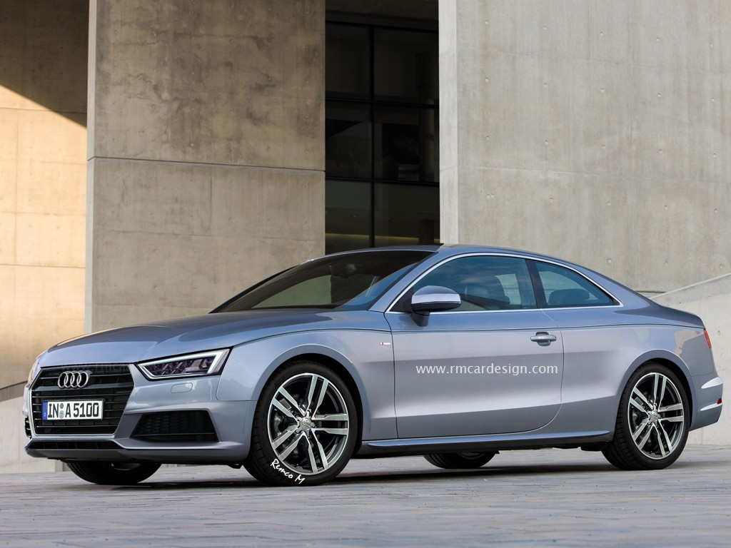 2017 Audi A5 Rendered Again, We Can See Audi A4's Influence Oozing ...
