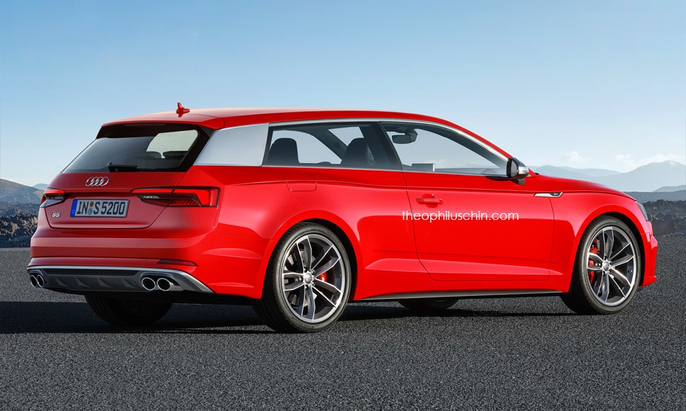 2017 Audi A5 Shooting Brake It S A Rendering Party