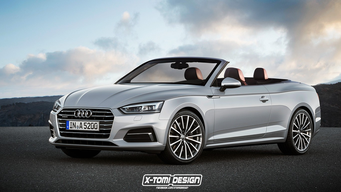 2017 audi a5 sportback and convertible will look like this. Black Bedroom Furniture Sets. Home Design Ideas