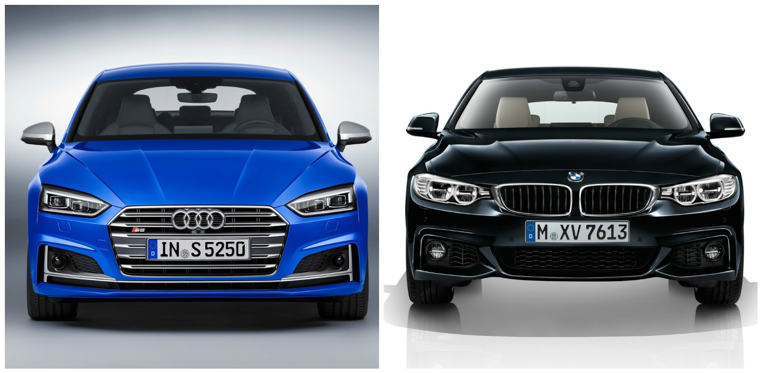 2017 Audi A5 Sportback Vs Bmw 4 Series Gran Coupe Photo Comparison Autoevolution
