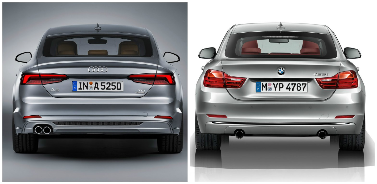 Audi A Sportback Vs BMW Series Gran Coupe Photo - Audi sedan series