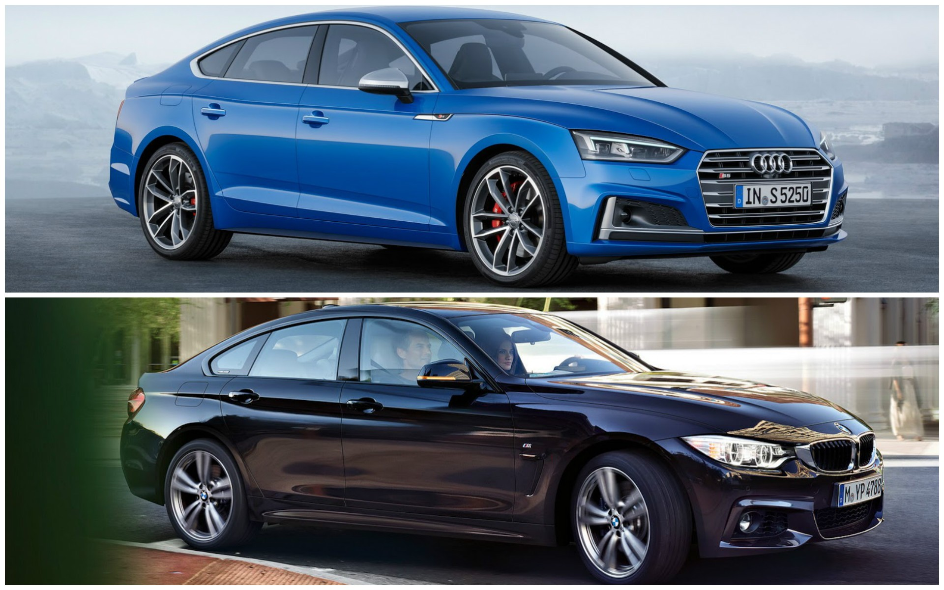 2017 audi a5 sportback vs bmw 4 series gran coupe photo. Black Bedroom Furniture Sets. Home Design Ideas