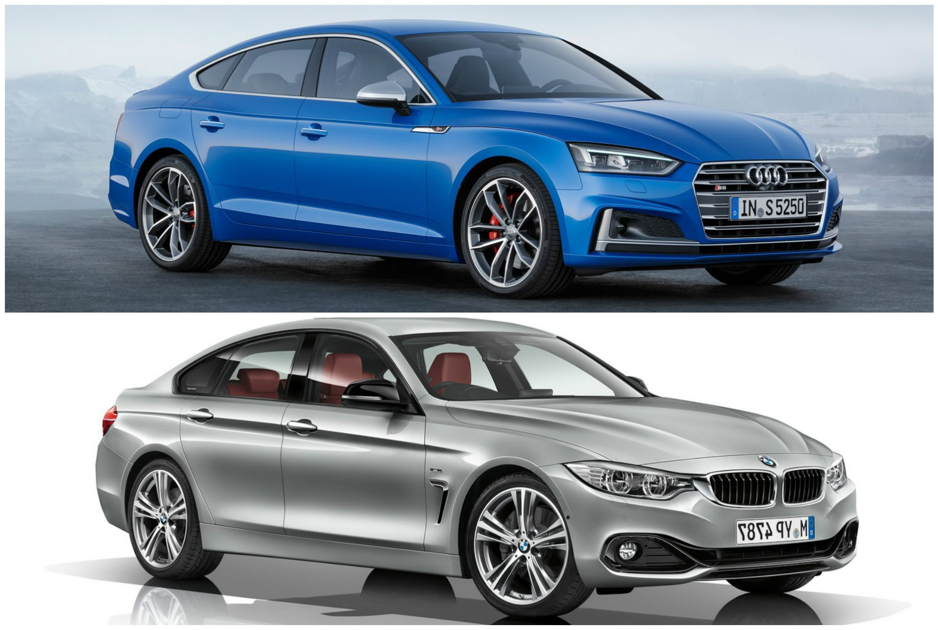 2017 audi a5 sportback vs bmw 4 series gran coupe photo comparison autoevolution. Black Bedroom Furniture Sets. Home Design Ideas
