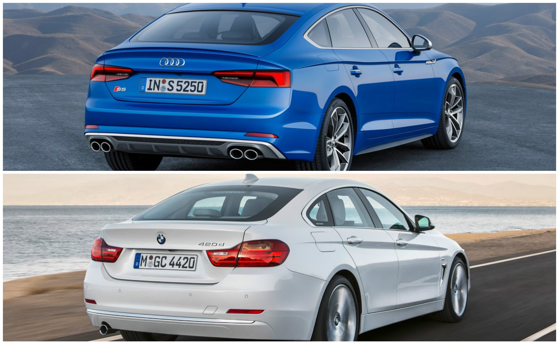 audi a5 sportback vs bmw 3. Black Bedroom Furniture Sets. Home Design Ideas