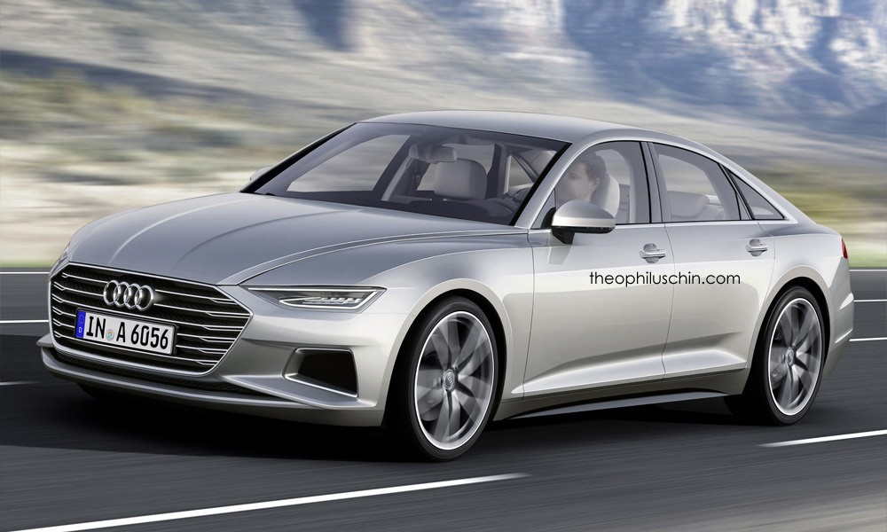 Audi A Rendered With Prologue Styling Cues Autoevolution - Audi a6 redesign