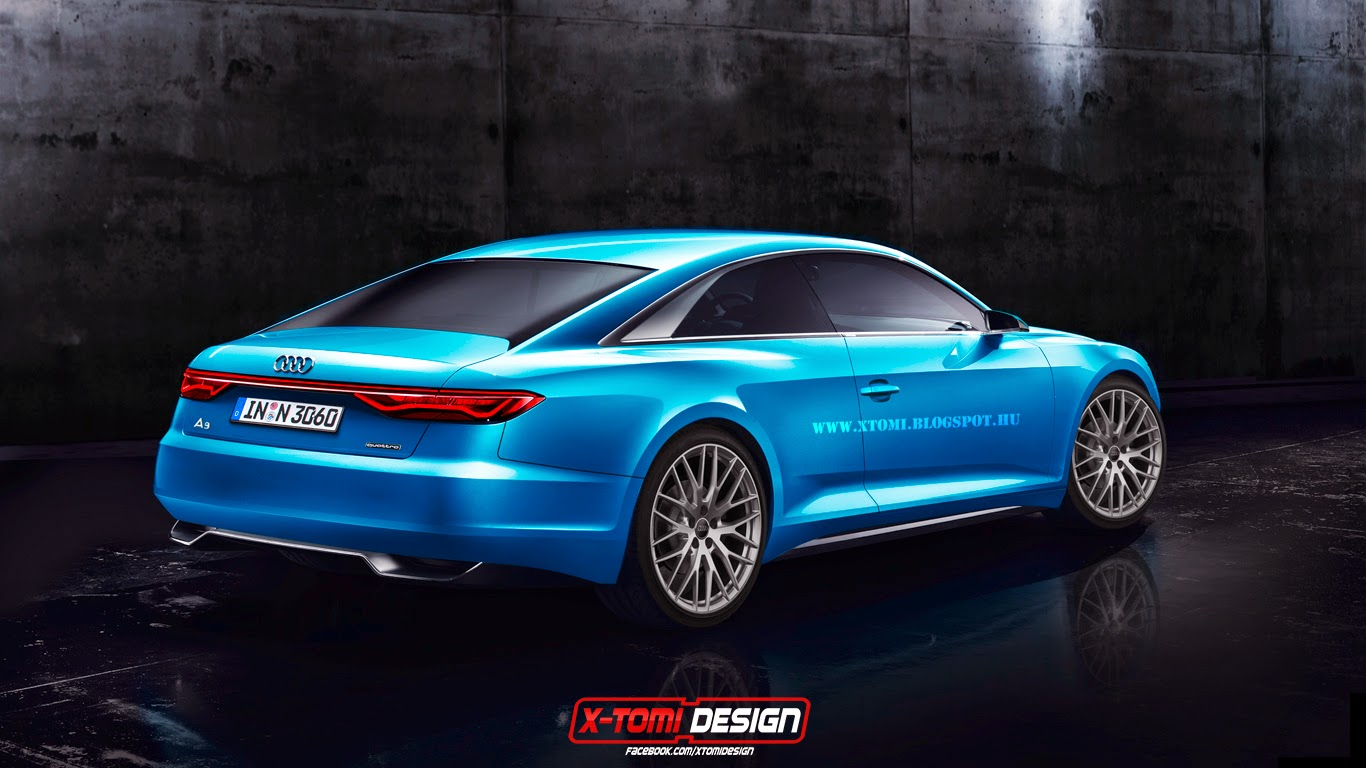 2017 Audi A9 Rendered as Production Coupe Based on ...