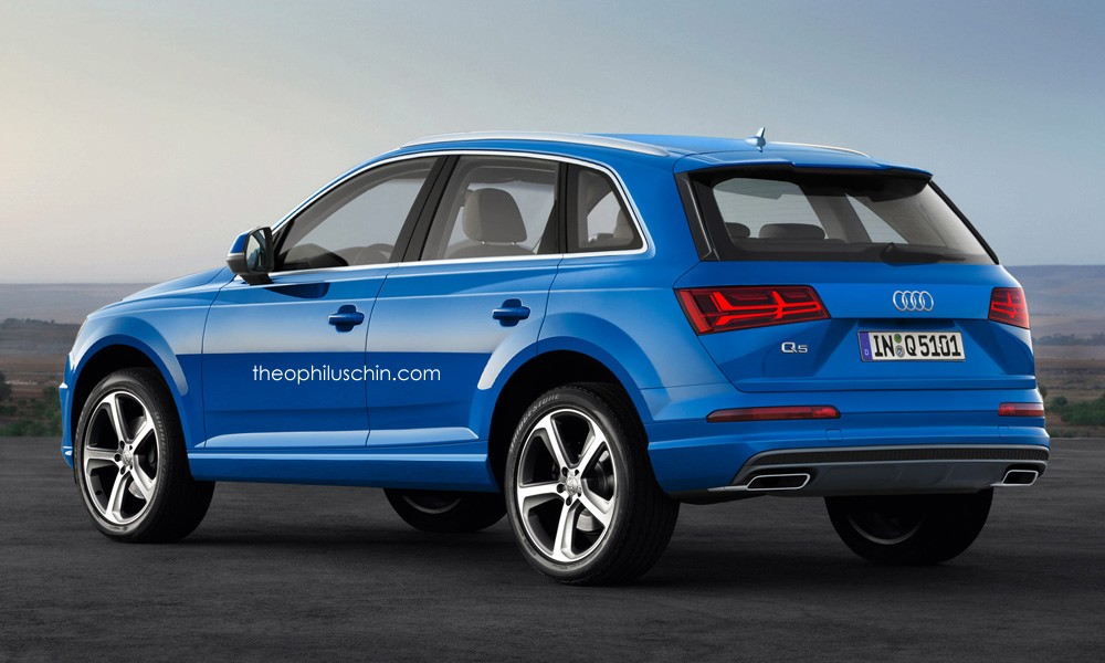 2017 audi q5 rendered let 39 s hope it looks this good. Black Bedroom Furniture Sets. Home Design Ideas