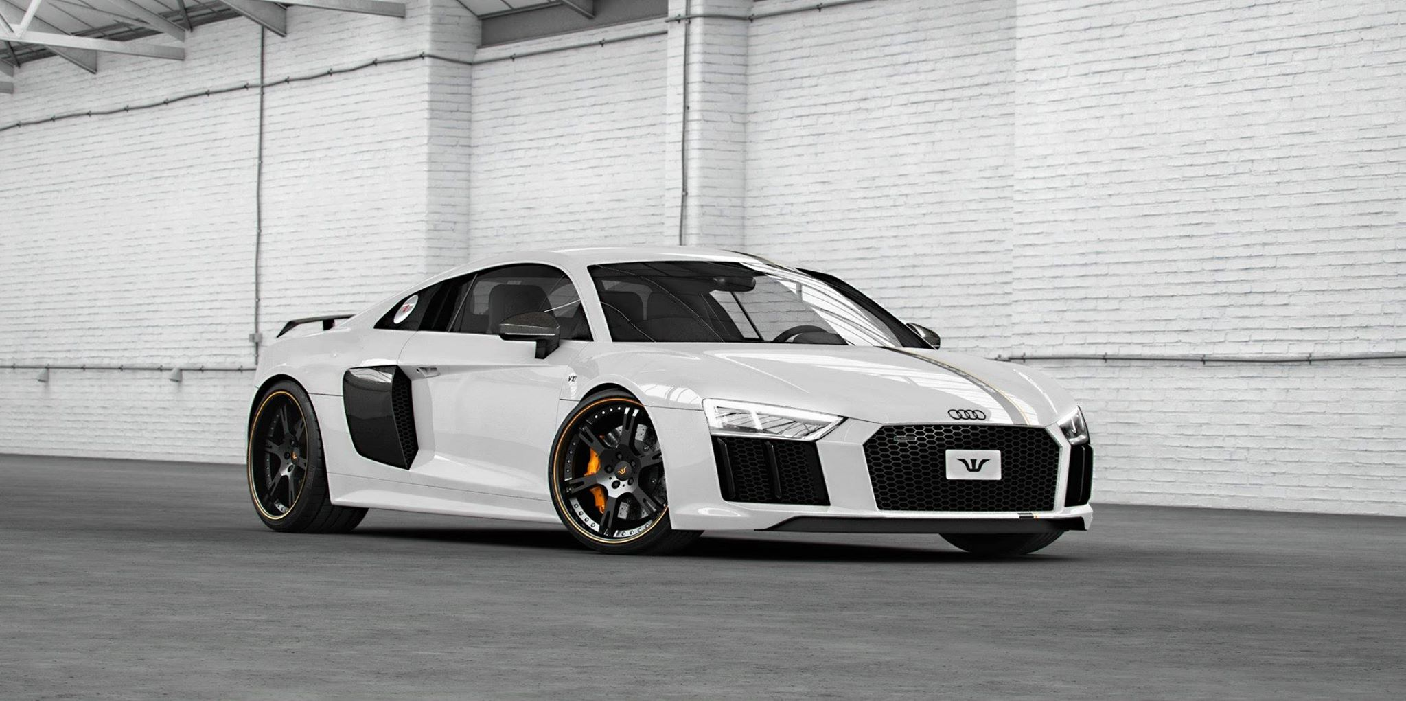 2017 Audi R8 by Wheelsandmore Has 850 HP and Looks Decent ...