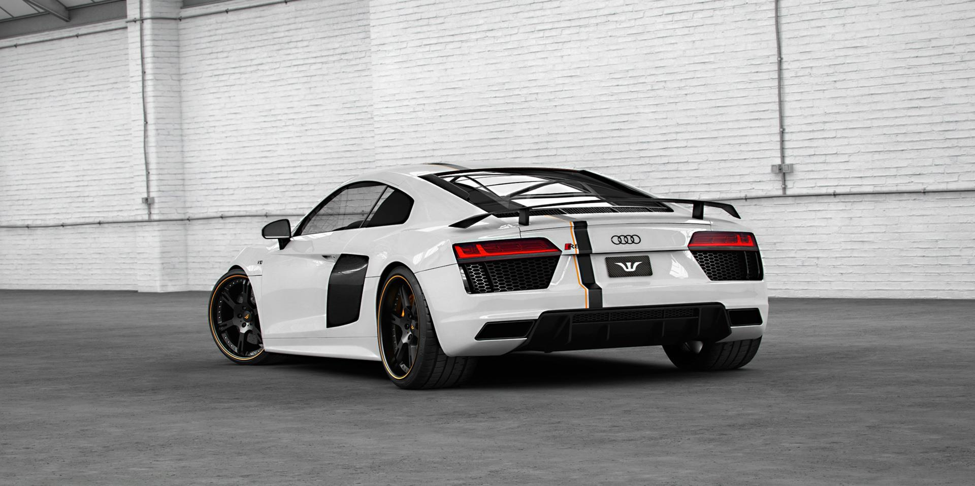 2017 Audi R8 by Wheelsandmore Has 850 HP and Looks Decent