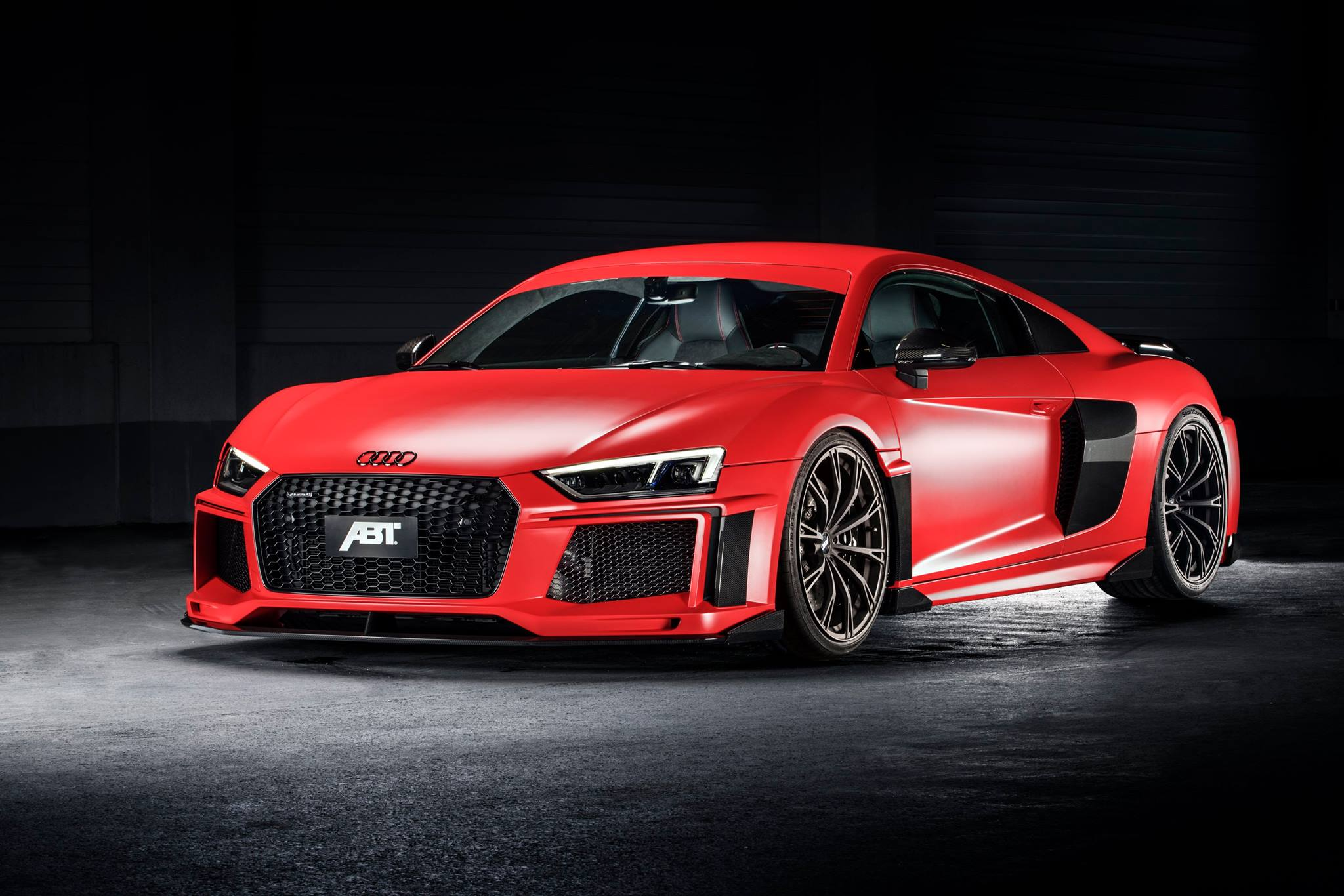 Audi ABT Red and Carbon бесплатно