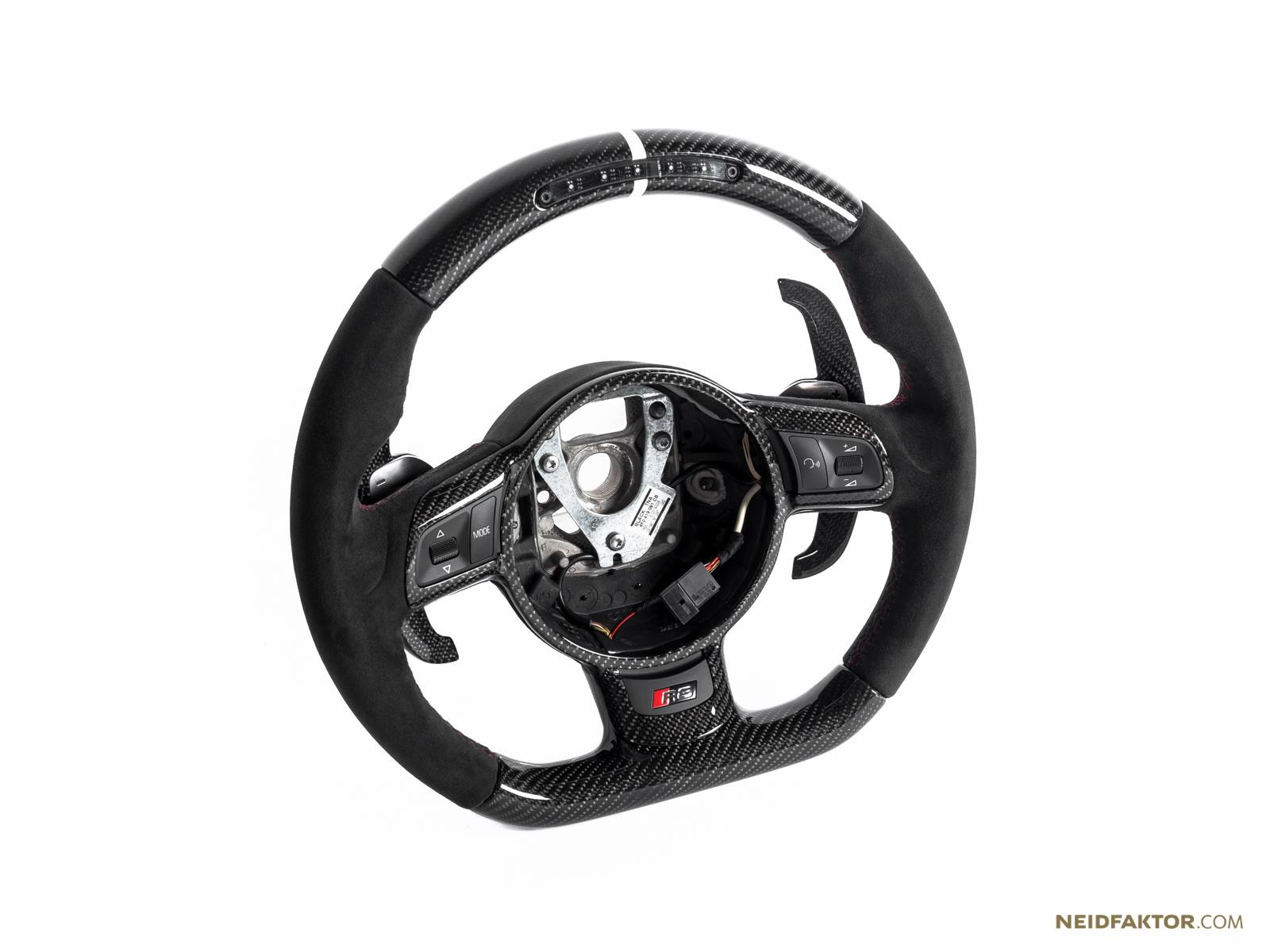 Audi R Steering Wheels Tuned By Neidfaktor With Carbon Fiber