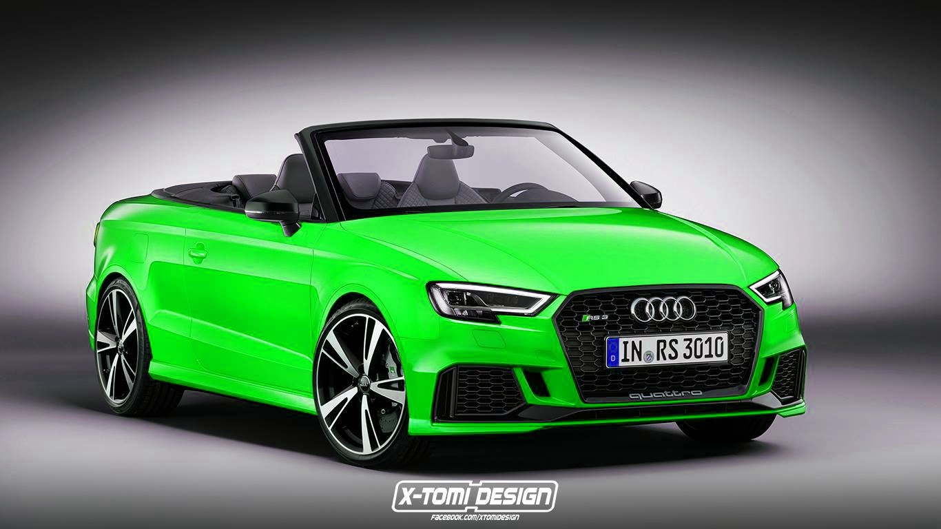 Audi A4 2017 Specs >> 2017 Audi RS3 Cabriolet Would Be Really Heavy and Expensive - autoevolution