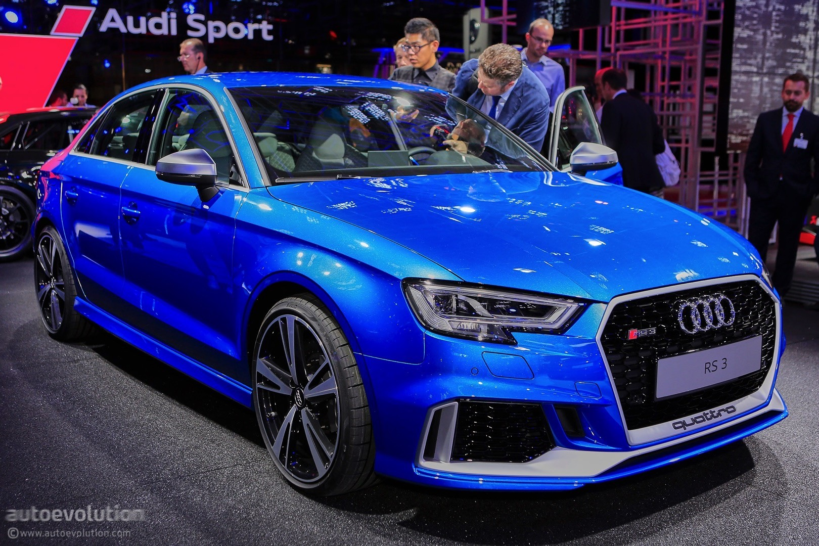 2017 audi rs3 sedan drops by the 2016 paris motor show. Black Bedroom Furniture Sets. Home Design Ideas