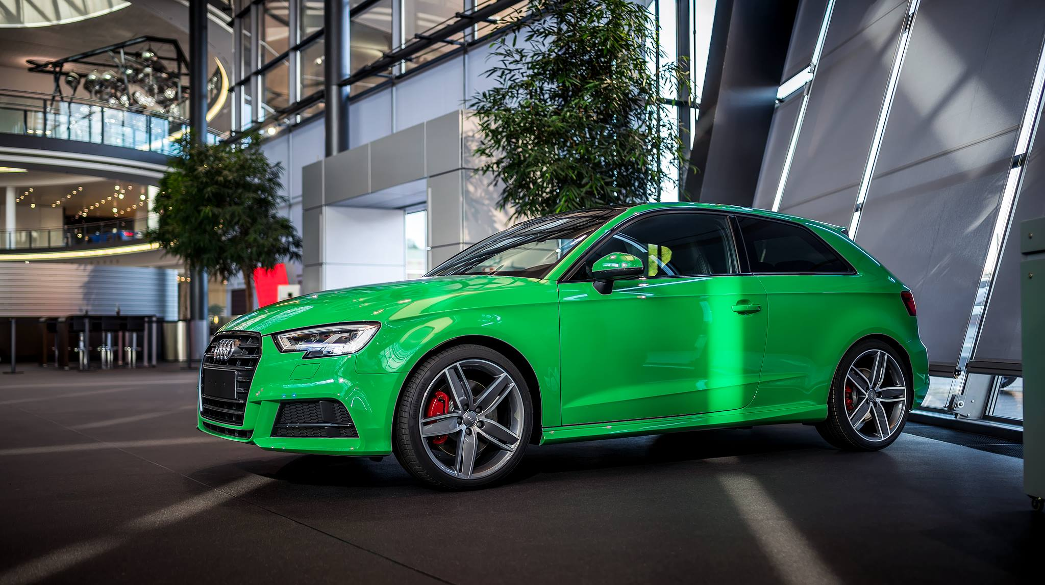 2017 Audi S3 3 Door In Porsche Green Is A Purist S Car
