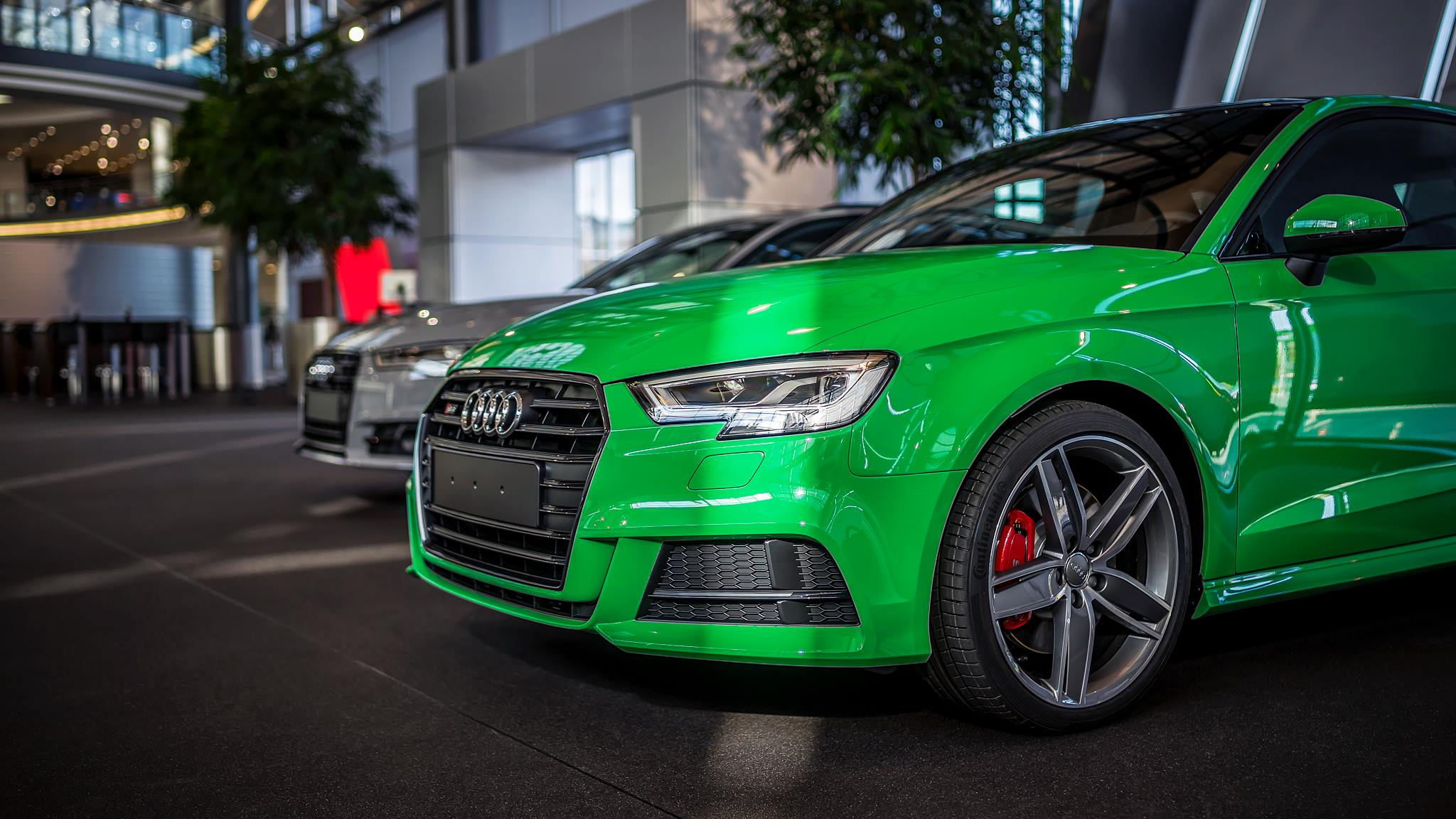 2016 Audi Q5 >> 2017 Audi S3 3-Door in Porsche Green Is a Purist's Car - autoevolution