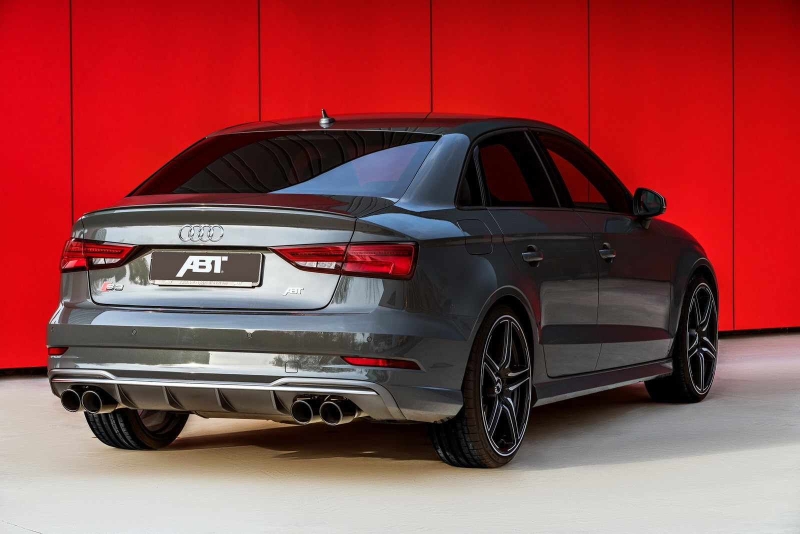 2017 audi s3 by abt can keep up with the rs3 sedan autoevolution. Black Bedroom Furniture Sets. Home Design Ideas