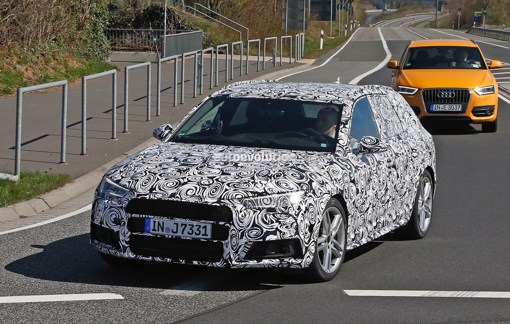 2017 Audi S4 Avant And Sedan Spotted Testing On The