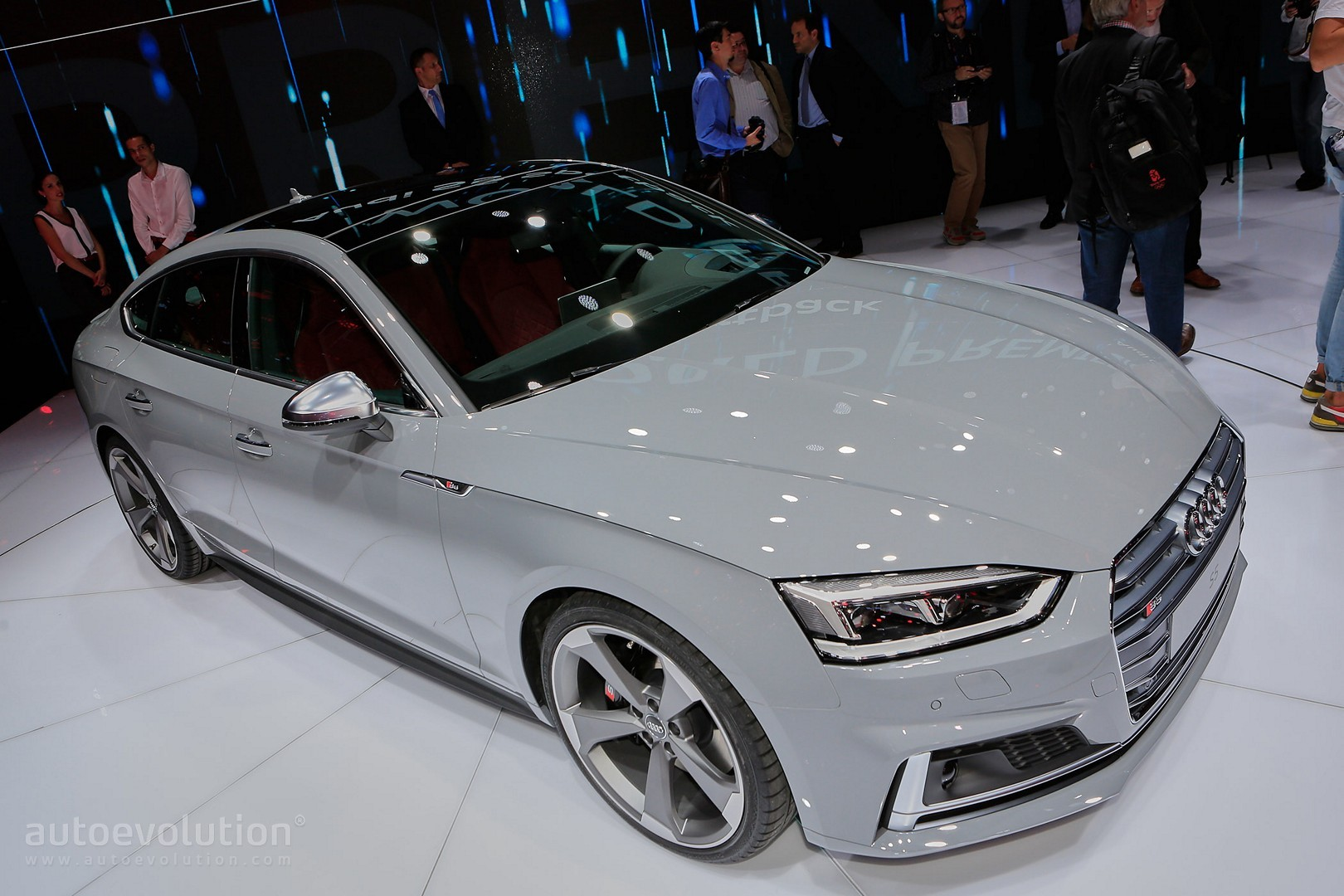 2017 Audi S5 Sportback Looks Like A Shark Thanks To Nardo