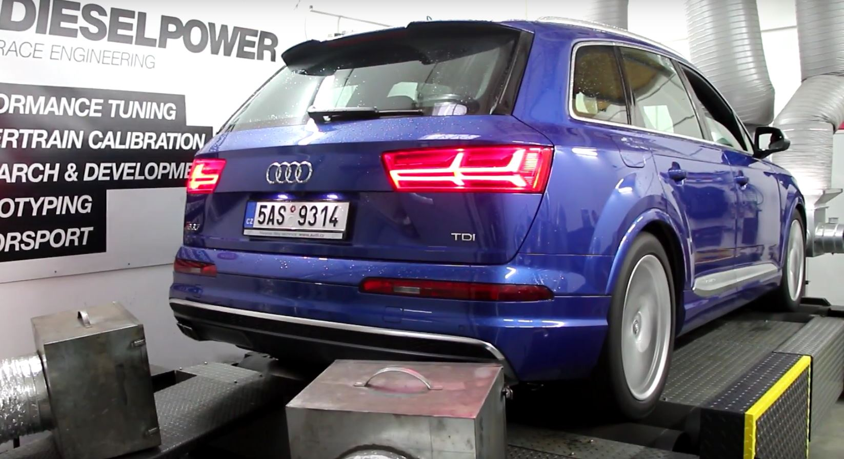 2017 audi sq7 dyno tuned to 473 hp and 945 nm autoevolution. Black Bedroom Furniture Sets. Home Design Ideas