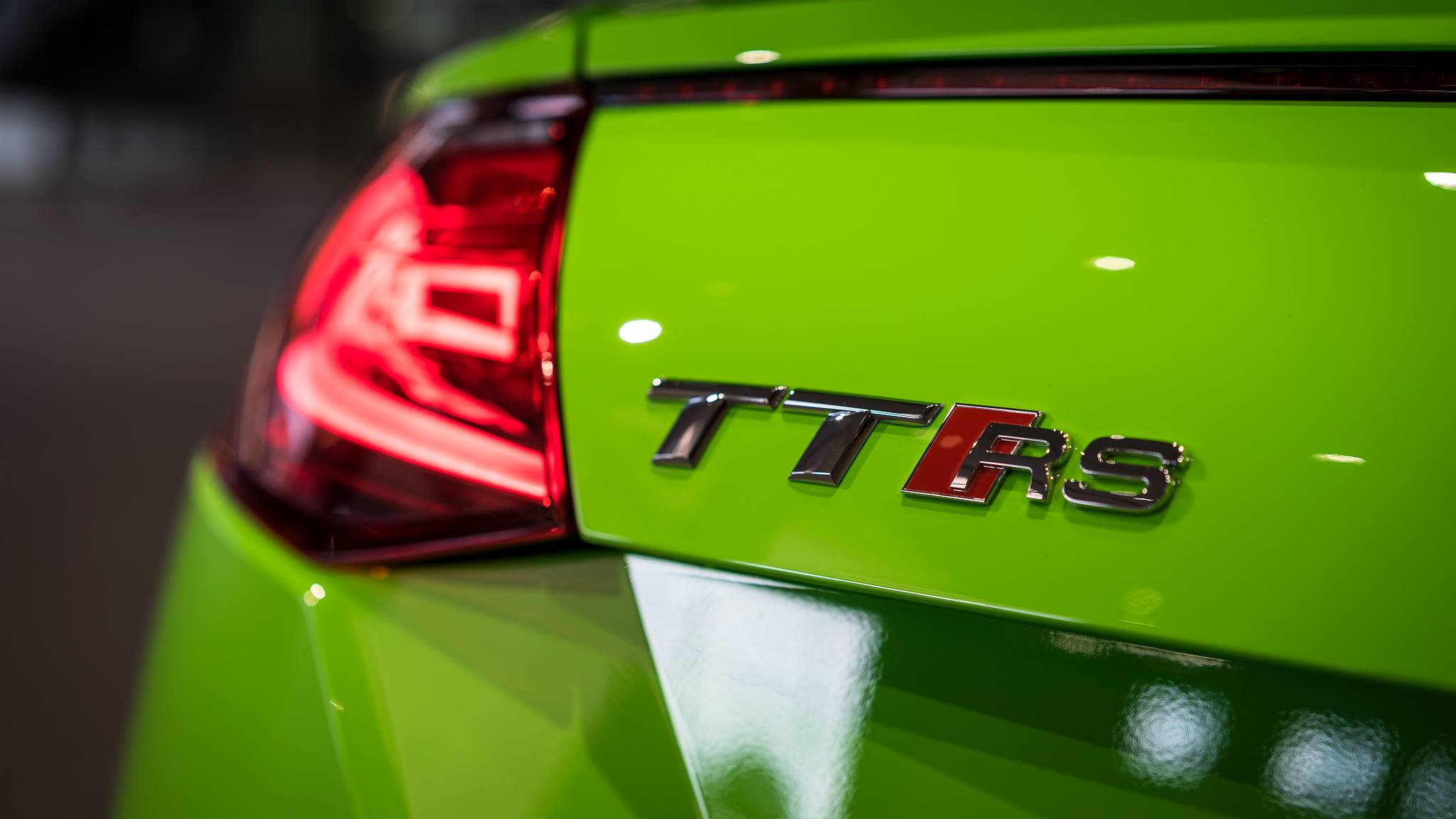 Audi Com Usa >> 2017 Audi TT RS in Lime Green Looks Like a Tiny Exotic Car ...