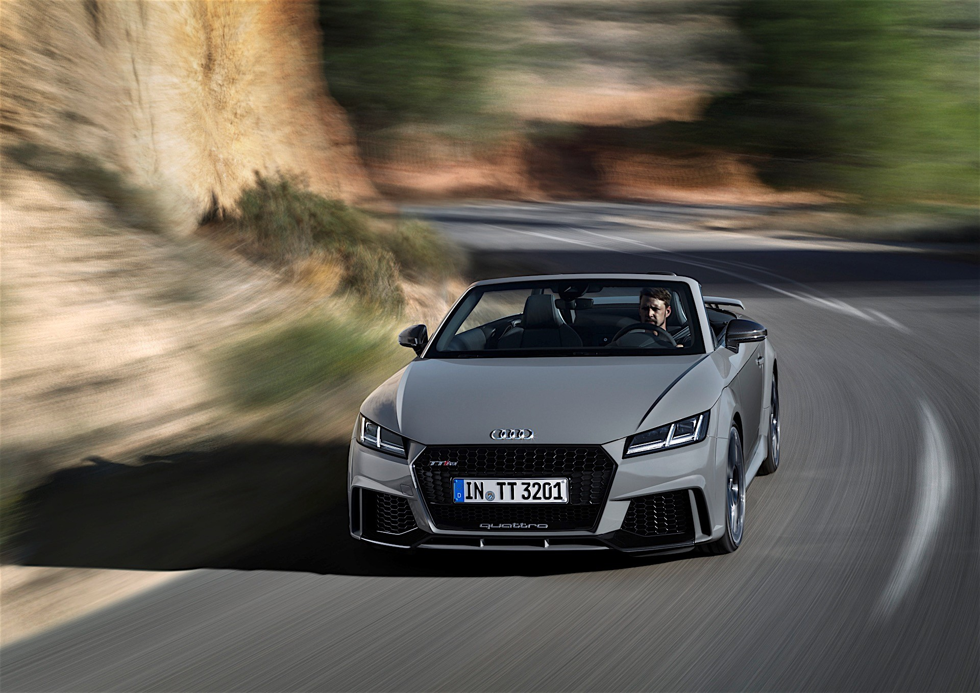 2017 Audi TT RS Roadster and Coupe Bow in Beijing with 400 ...