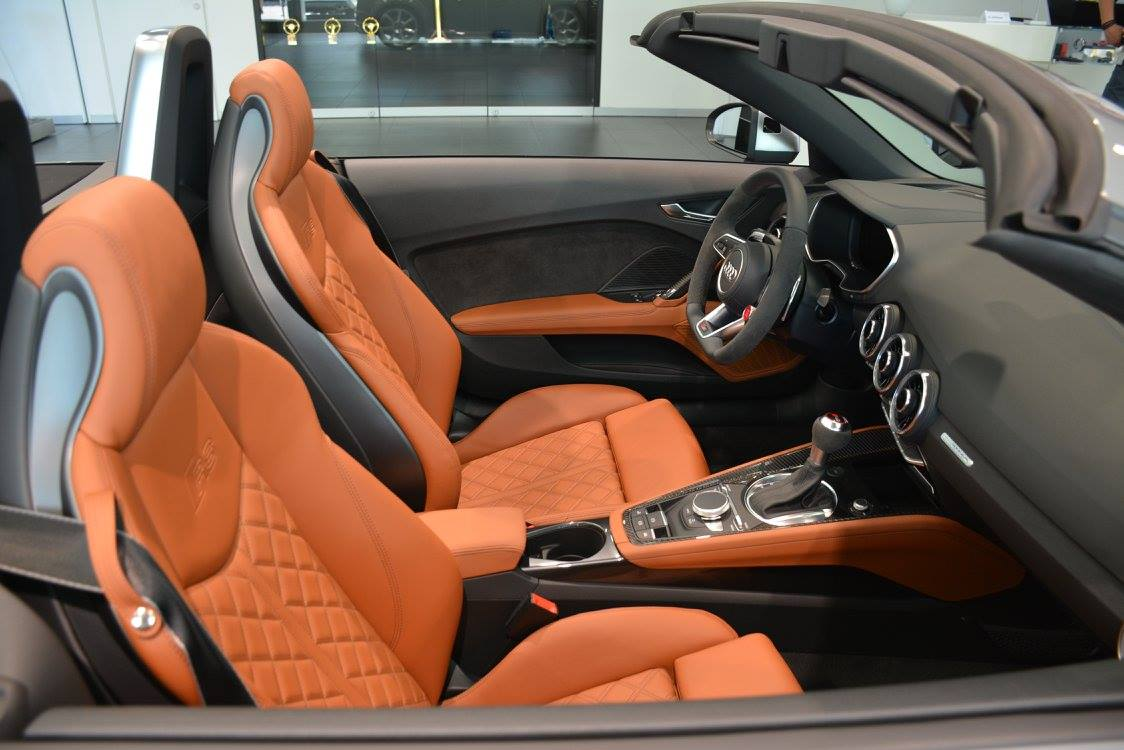 2017 Audi Tt Rs Roadster Shows Nardo Gray Paint At Audi