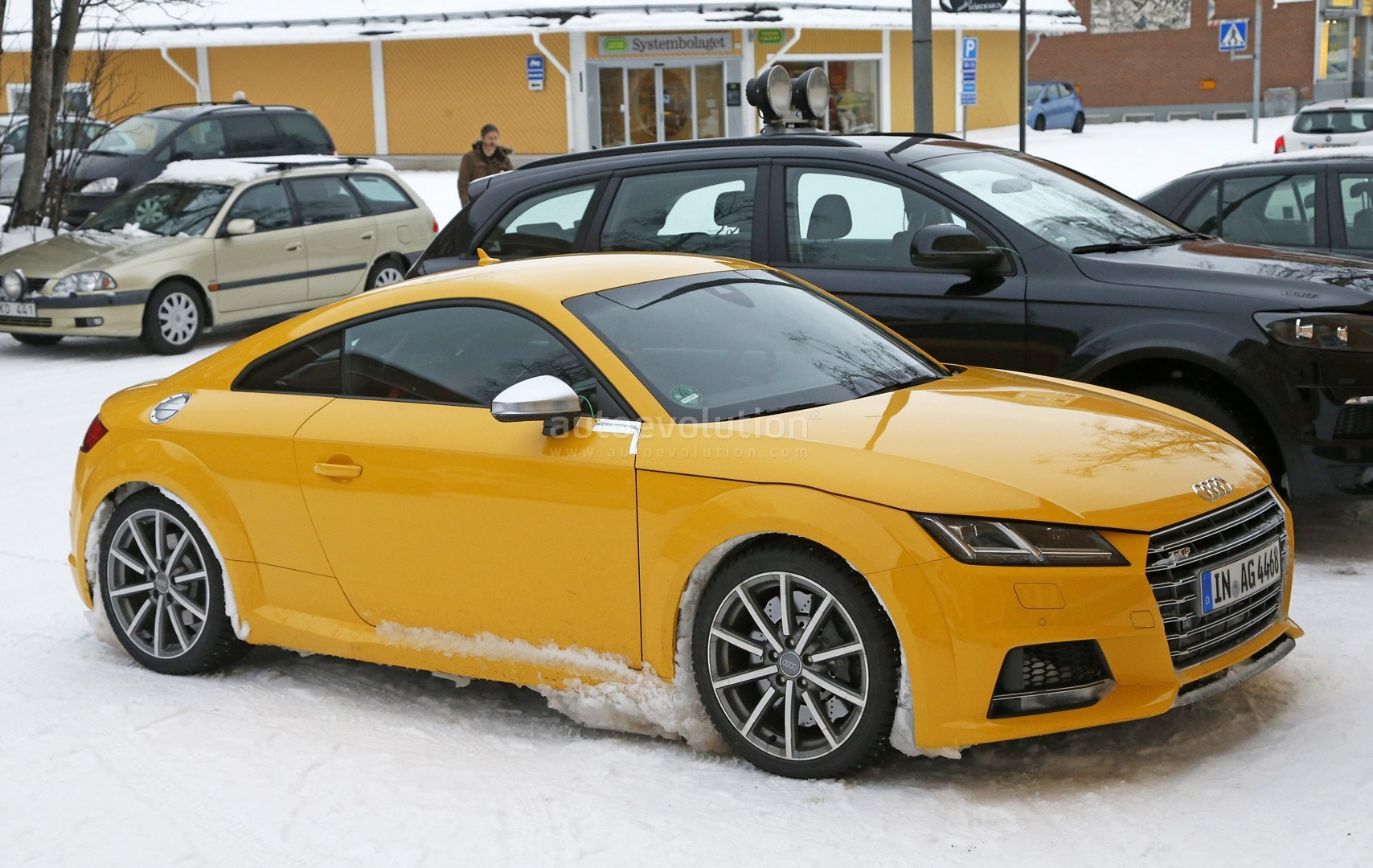 2017 Audi TT RS Spy Photos Reveal Manual Gearbox for the First Time ...